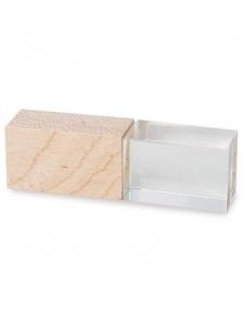 Clé USB en cristal