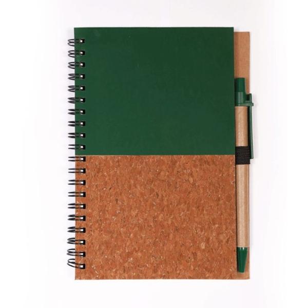Notebook en liège écologiques